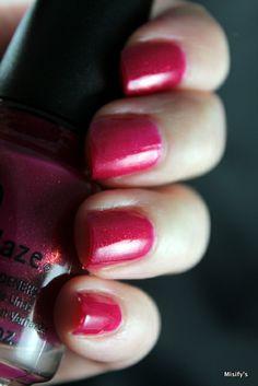 China Glaze - Ahoy! / Pink Nails.
