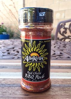 Red Chile BBQ Rub 6oz Bottle