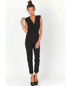 The Styling Up stylists recommend: missguided: Jerma Crossover Tailored Jumpsuit
