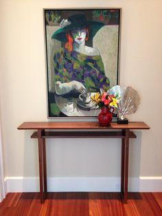Table moderne bois couloir étroit : Étroite par MokuzaiFurniture