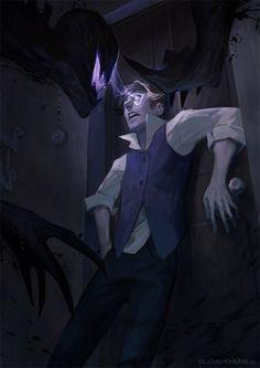 Violet Horror by vicious-mongrel.deviantart.com on @DeviantArt