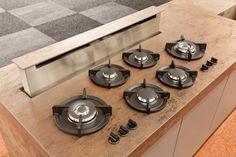 integrated countertop cooking with pitt | @meccinteriors | design bites | #cooktop #integratedcooktop