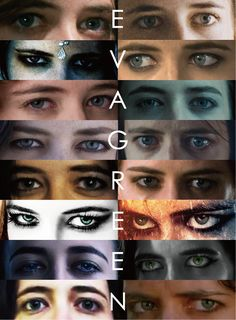 EYE love Eva Green. from the beginning to now, from The Dreamers to The Salvation, these are Eva's eyes from all 16 amazing projects she's done on screen.