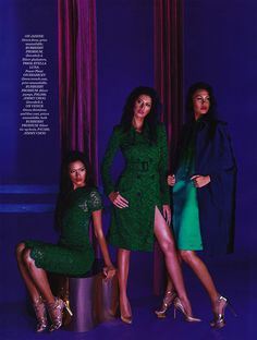 Fashion Media Philippines: Venus Raj, Shamcey Supsup and Janine Tugonon by Bj Pascual in cover story Editorial for Preview Magazine (May 2013)
