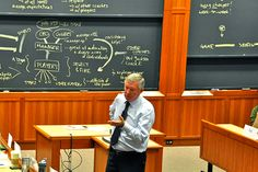 The manager of iconic Manchester United, the recent topic of a Harvard Business School case that examined his famous career and the keys to his effective brand of leadership, visited Harvard this fall to engage with HBS students in the classroom.