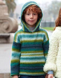 Book Kids 79 Autumn / Winter | 40: Kids Sweater | Blue-Green blue-Pistachio