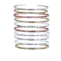 Irish+Proverb+Affirmation+Bracelets+