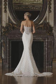 RK6402 | Romona Keveza Luxe Bridal Spring 2016