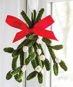 Ravelry: Merry Mistletoe pattern by Jennifer E. Ryan