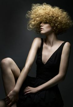 Curly hair styles: hairstyle and haircut ideas for curly hair by Andrew London Rush Hair