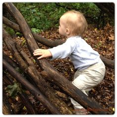Get kids outside and exploring nature! A very cute adventure.