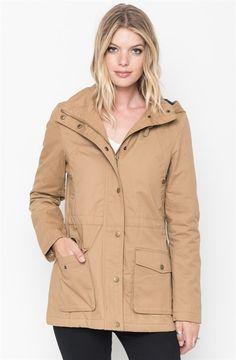 Plaid Hooded Utility Jacket | Jane  ↞{711RoyalGemma}↠