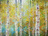 Ioan Popei: Birch Trees 01