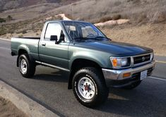 Bid for the chance to own a 1993 Toyota Pickup at auction with Bring a Trailer, the home of the best vintage and classic cars online. Toyota Pickup 4x4, Toyota Trucks, Lifted Ford Trucks, Toyota Cars, Toyota Hilux, Toyota Corolla, Pickup Trucks, Bmw Classic Cars, Classic Cars Online