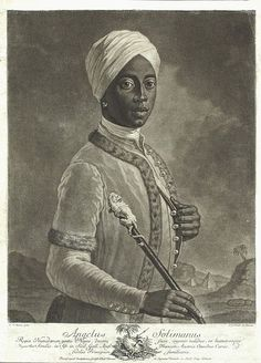 An Austrian named Angelo Soliman who is said to be a native of Central Africa who was kidnapped at a young age. As he grew older he became fluent in 6 languages, was a master swordsman, navigator, and renowned music composer Moorish Science, Black Royalty, Eastern Star, Black History Facts, Freemasonry, African Diaspora, Kaiser, European History, African American History