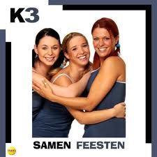 K3 (oude setting met Kristel, Kathleen en Karen).