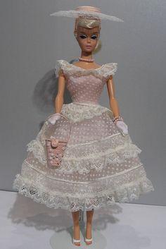 Vintage Platinum Swirl Ponytail Barbie in Plantation Belle Platinum Hair Color, Barbie Skipper, Color Swirl, Barbie Accessories, Barbie Dream, Barbie Collector, Barbie Friends, Barbie World, 1960s Fashion