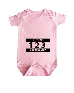 054893026f26 Future Marathonist Baby Clothes, Bodysuit, Baby Shower Gift, Funny Baby  Clothes, Baby Boy, Baby Girl, Baby Marathonist