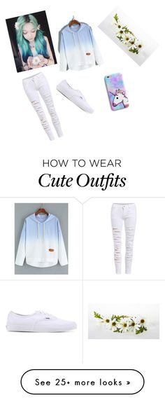 """""""Outfit for the Bestie"""" by daydreamxox on Polyvore featuring Vans"""