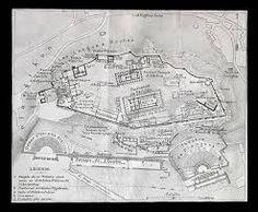 Resultado de imagen de plano acrópolis de atenas
