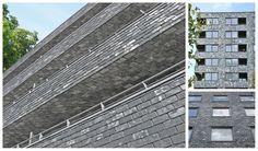 Duurzame natuurlijke leisteen #gevelbekleding en plafond met Warista #natuurleien