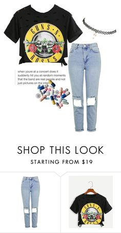 """•journal entry•"" by empty-goldd ❤ liked on Polyvore featuring Topshop, WithChic and Wet Seal"