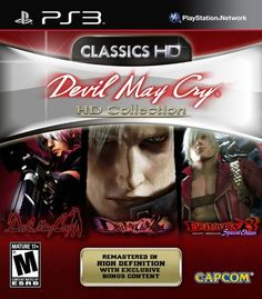 Devil May Cry HD Collection - Playstation 3                                                                                                                                                     More