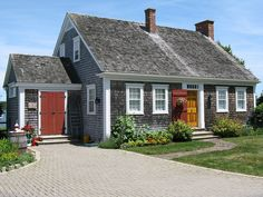 Mahone Bay, Nova Scotia. Took a picture of this house yesterday on the way to Lunenburg!