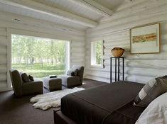 49 Gorgeous Rustic Cabin Interior Ideas www. Rustic Wooden Bed, Cabin Interior Design, Interior Ideas, Cabin In The Woods, Cabin Interiors, Log Cabin Homes, Home Decor, Crazy Life, Crazy Crazy