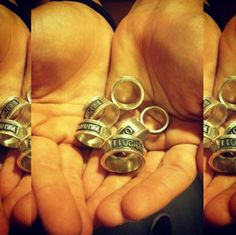 Kira's rings! From smoed :) I want to be a world champion!