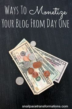 How to monetize a blog from day one, so that when traffic does begin to show up you start seeing profit that will grow as your blog grows. #blog, #blogging, blogging, business, entrepreneur