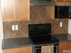 Kitchen Backsplash Large Tiles backsplash designs | tile backsplash design | kitchen re-do