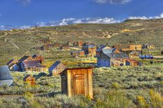 Ghost town of Bodie, California | c75 Bodie Township1040 Bodie California..........I found the crapper.............lol