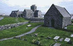 Iona abbey, Schotland.