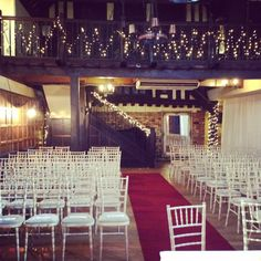 REALLY want this set up for our wedding - love all the fairy lights