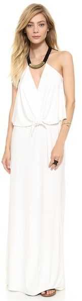 T-Bags Los Angeles Convertible Maxi Dress with Necklace on shopstyle.com