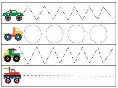 living worldsapart: Wheel School - M is for Monster Truck