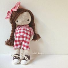 Isabelle Kessedjian: Ma poupée au crochet