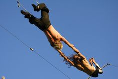 Try a 2 hour session today at London's first outdoor trapeze school. www.gorillacircus.com