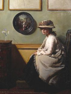 The Mirror - Sir William Orpen