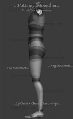 #HippyDrome.com Front Back Deformation