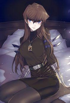 Kaiba Seto,genderber, female, Yu-Gi-Oh! Yu Gi Oh, Chica Anime Manga, Manga Girl, Anime Art Girl, Anime Sexy, Anime Love, Gender Bender Anime, Rule 63, Animes Yandere