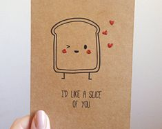 funny pizza pun card quirky cute love italian takeout food toast punsvalentines day sayingsvalentines