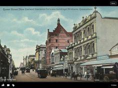 Queen Street, Brisbane, 1800s.