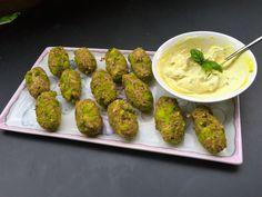 Brokkoli-Kroketten - Ja-Mi's Food & Nutrition