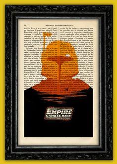 Star Wars Book Print by ThePurpleHamster