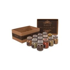 Dalit Gift Set Containing 12 Spices and Recipe Book