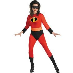 Mrs. Incredible Costume - Large (12 - 14) $42.95 #Disguise