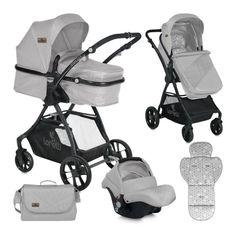 Οι πιο συναρπαστικές βόλτες με το μωρό σας είναι… ένα κλικ μακριά! Αποκτήστε αυτό το πολυκαρότσι της Lorelli στα @oneirabebe και καλές διαδρομές, με άνεση, ασφάλεια και στιλ!   #OneiraBebe #LorelliStroller #BabyTransport #Stroller3to1 Prams, Baby Strollers, Dolls, Grey, Children, Unique, Instant Canopy, Moses Basket, Human Height