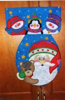 Navidad Moldes De Amanda: JUEGOS DE BAÑO NAVIDEÑOS